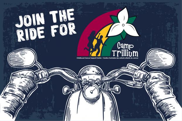 Ride for Camp Trillium logo.