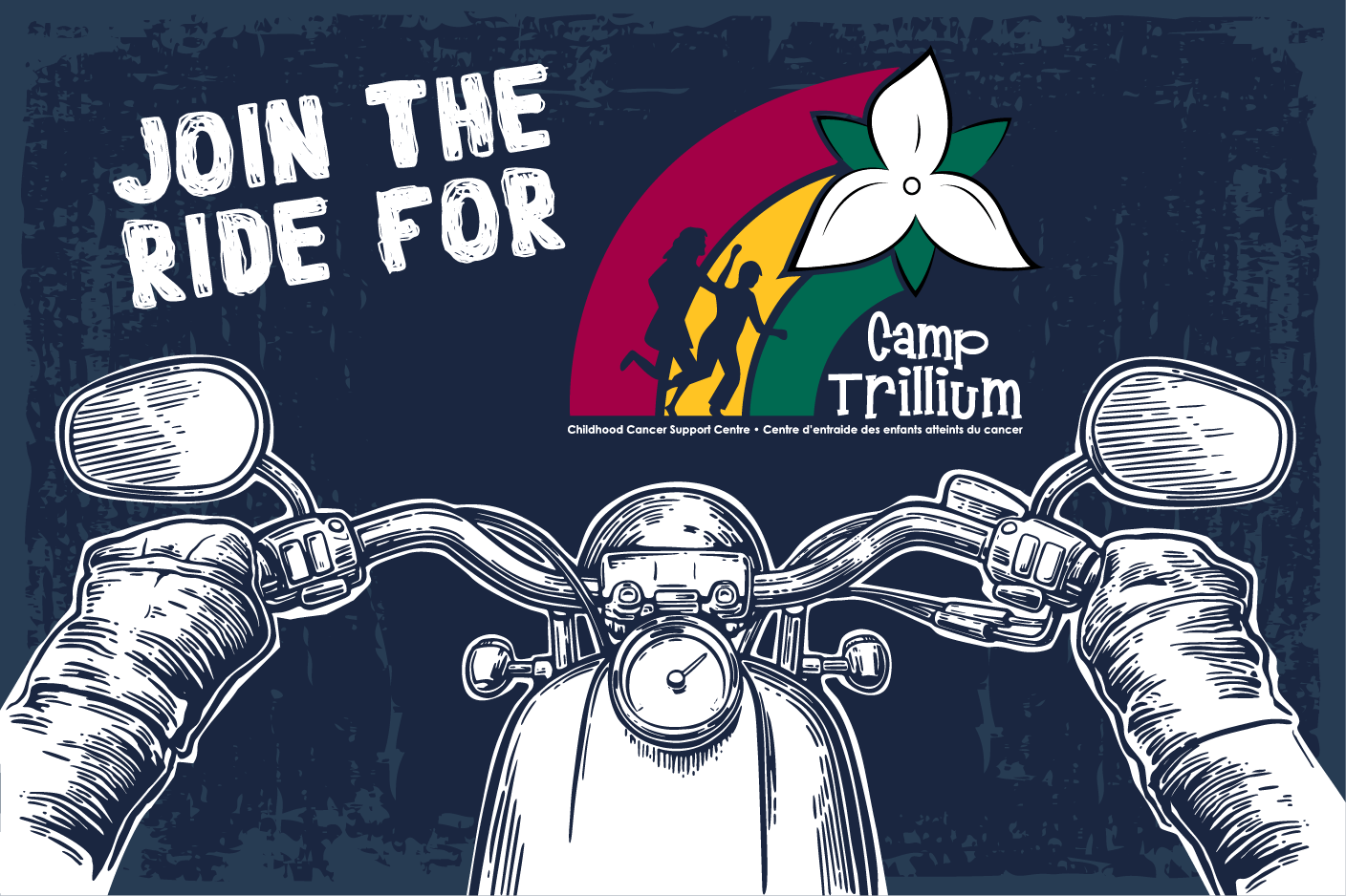 Ride for Camp Trillium logo.