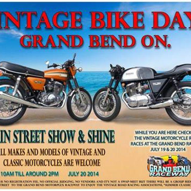 Vintage Biker Days in Grand Band