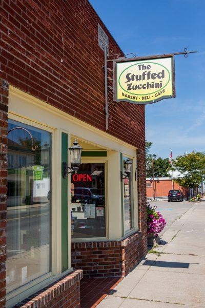 The Stuffed Zucchini